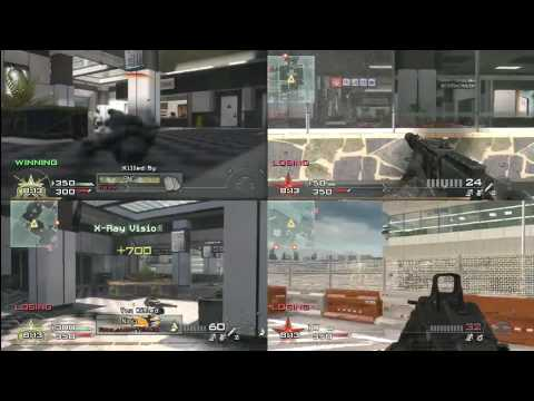 Call Of Duty Modern Warfare 2 - Four Player Splitscreen