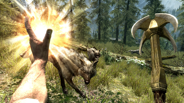 The Elder Scrolls V: Skyrim - Wolves