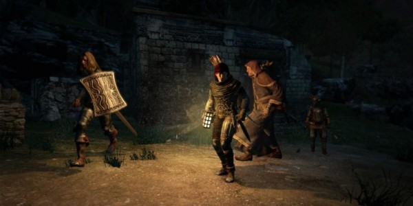 Dragon's Dogma - Nighttime Walking