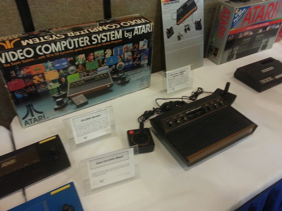 Atari Video Computer System Box and Console
