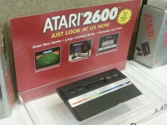 Atari 2600 Jr. Revision Store Display