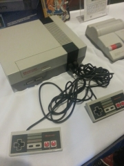 Original Nintendo Entertainment System and Second Version