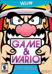 Game & Wario Box Art