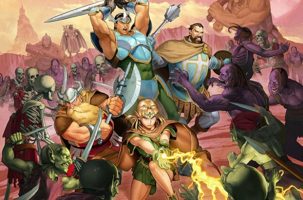 Dungeons And Dragons Chronicles Of Mystara Artwork