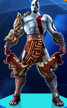 Playstation All Stars Colonel Kratos