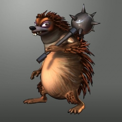 Sly Cooper Porcupine Guard