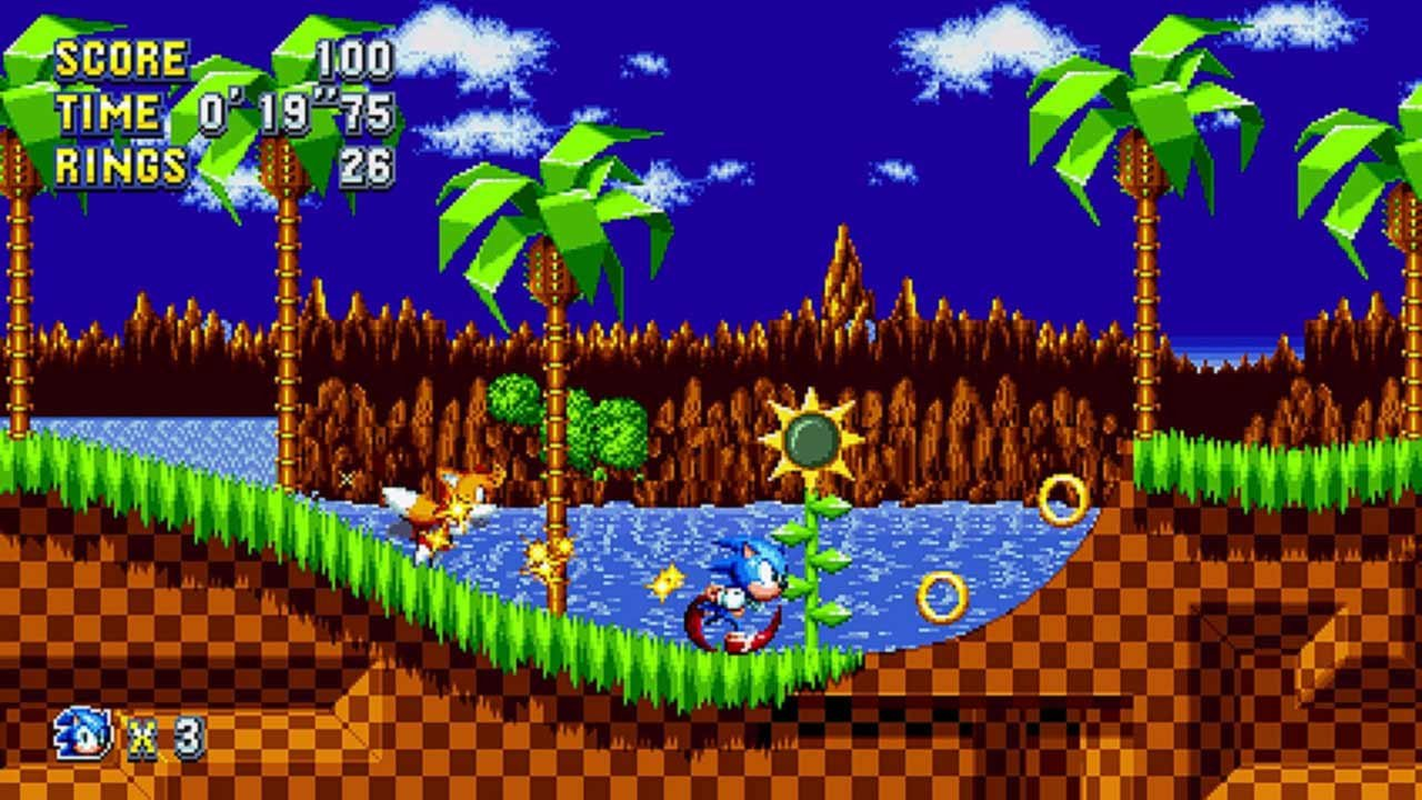 Sonic Mania - Green Hill Zone