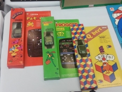 Official Pac-Man, Frogger, and Q-Bert Game Watches