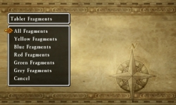 Dragon Quest VII - List of Fragments