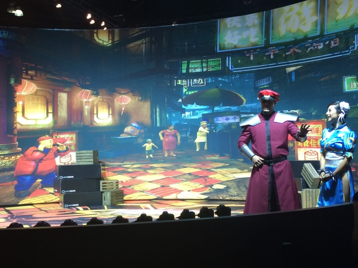 E3 2015 - Street Fighter Cosplay on the Show Floor